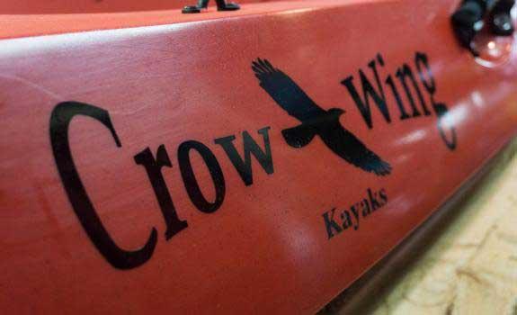 Crow Wing Kayaks logo