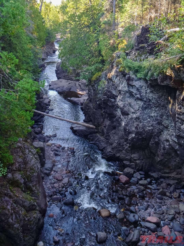 The Cascade River at Cascade River State Park