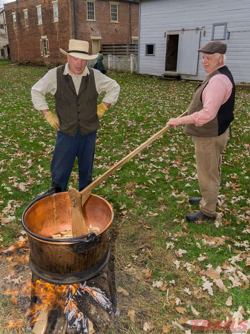Apple Butter Day is an annual event at Historic Forestville
