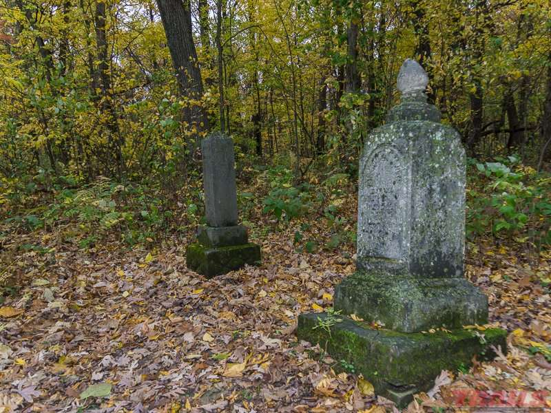 Headstones at the Zumbro Hill Cemetery at Forestville/Mystery Cave State Park