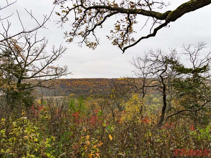 Fall views at Forestville/Mystery Cave State Park