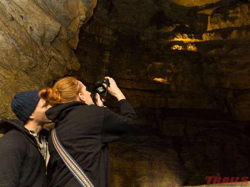 Cave tour at Forestville/Mystery Cave State Park