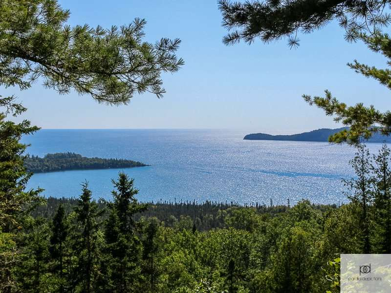 View of Lake Superior at Grand Portage State Park