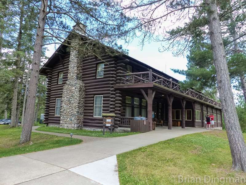 Douglas Lodge at Itasca State Park