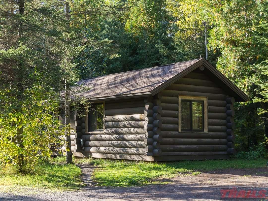 Camper cabin at Jay Cooke State Park