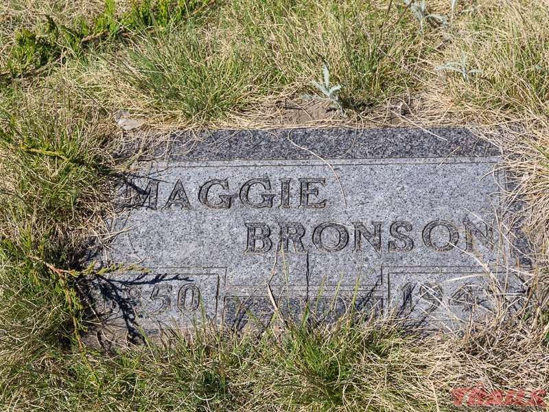 Maggie (Margaret) Bronson and her husband Giles were the first settlers in the area. The town of Bronson is named after them