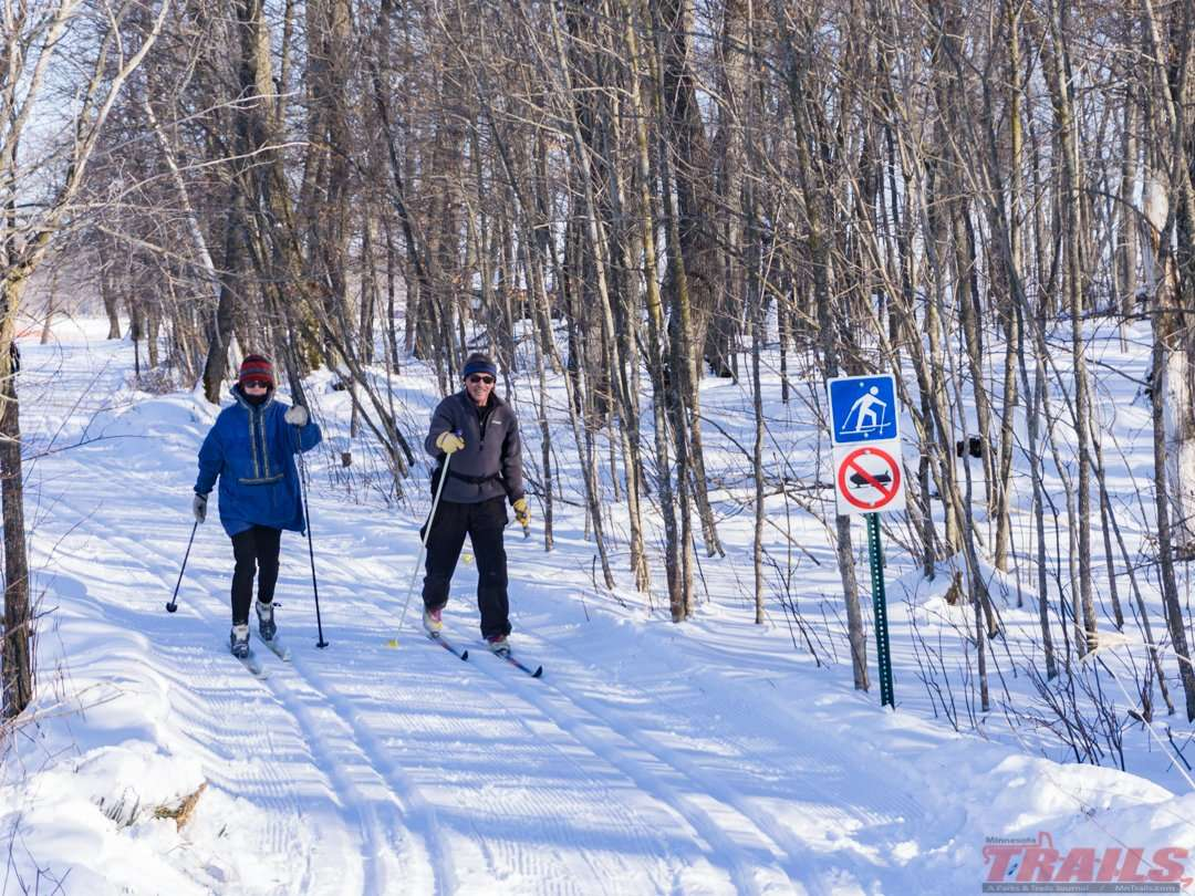 Lake Carlos State Park grooms six miles of ski trails