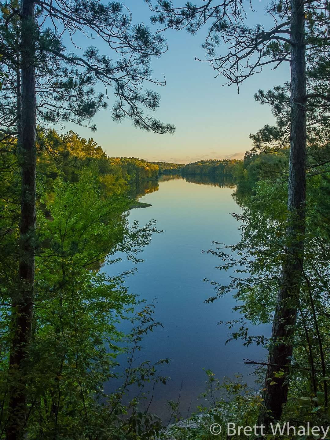 The Ojibwe Overlook at Crow Wing State Park