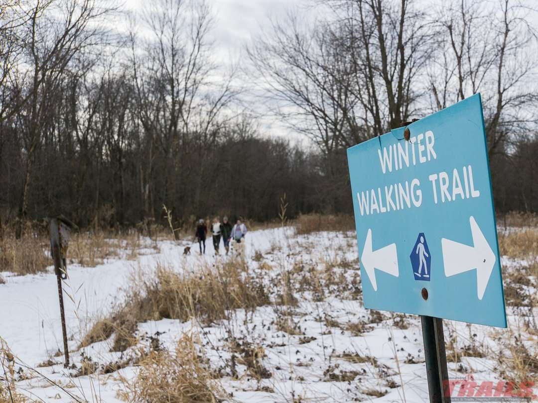 Trails at Fort Snelling State Park are well marked