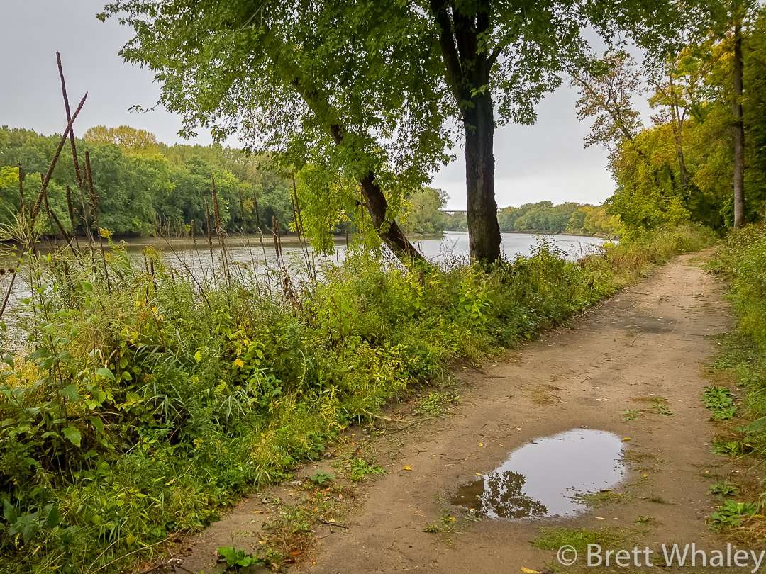 The Minnesota River Trail at Fort Snelling State Park