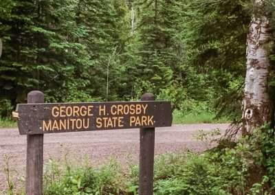 George H. Crosby Manitou State Park