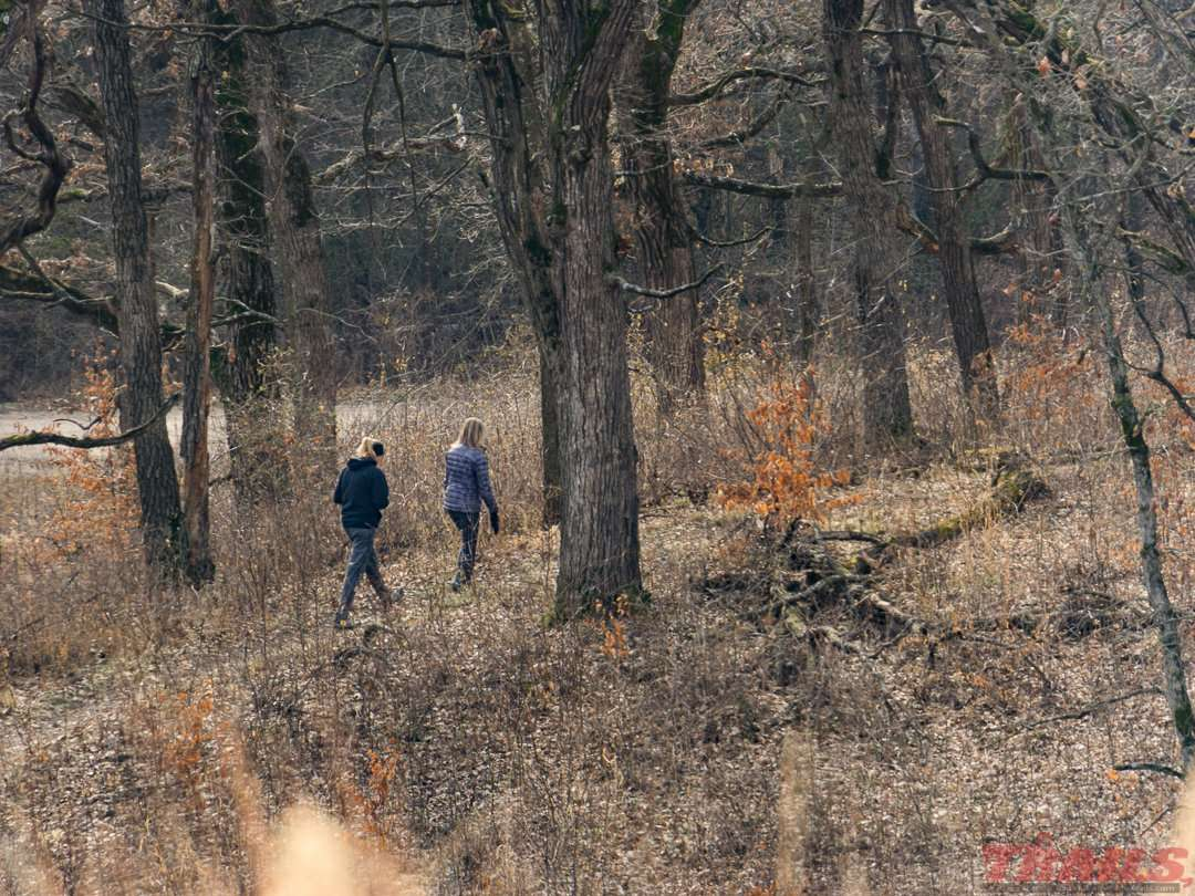 Sibley State Park offers 18 miles of hiking trails