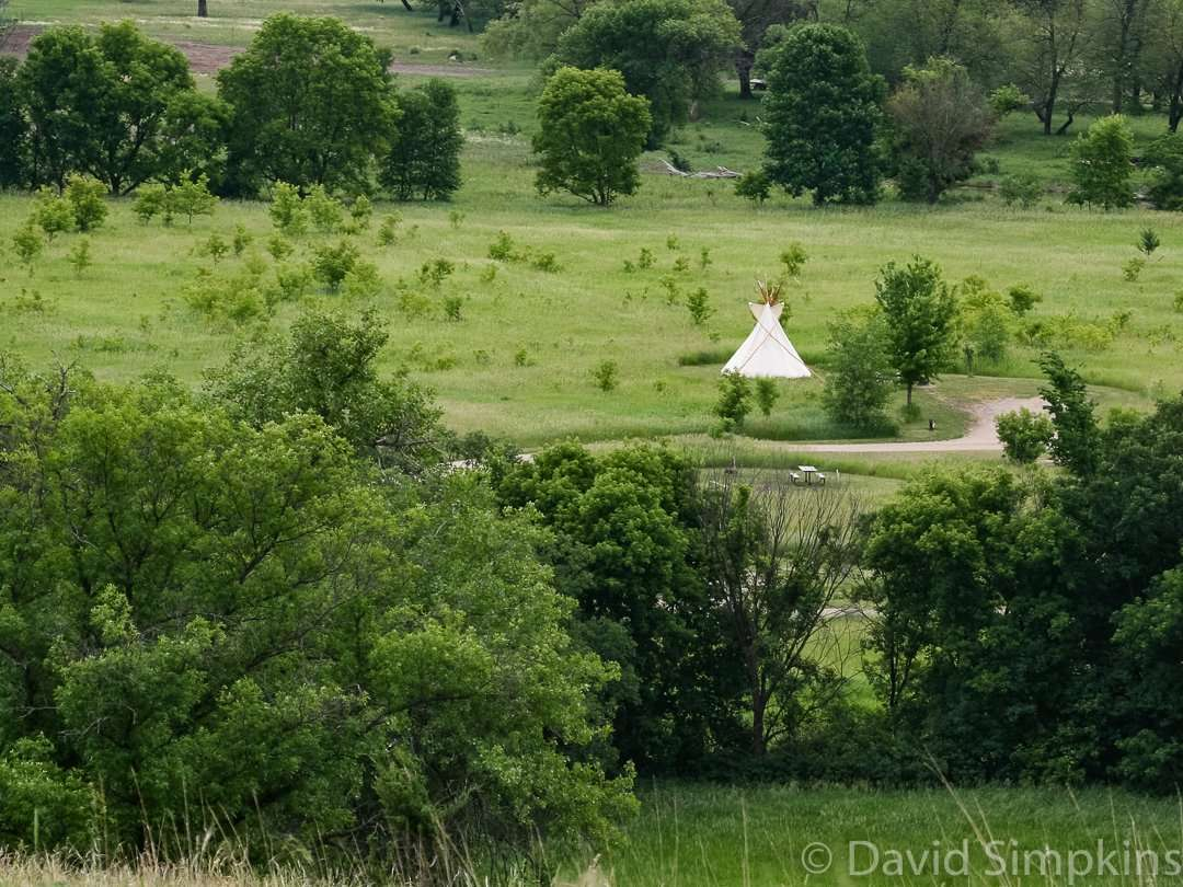 Three tipis are available for rent at Upper Sioux Agency State Park