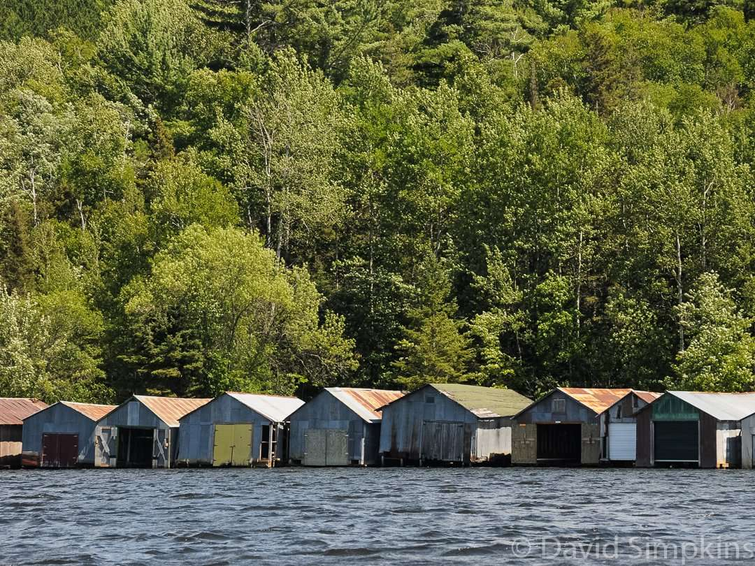 Once offered to mine workers as an incentive, these boathouses were built between 1900 and 1955 and are now part of the Stuntz Bay Historic Boathouse District at Lake Vermilion-Soudan Underground Mine State Park