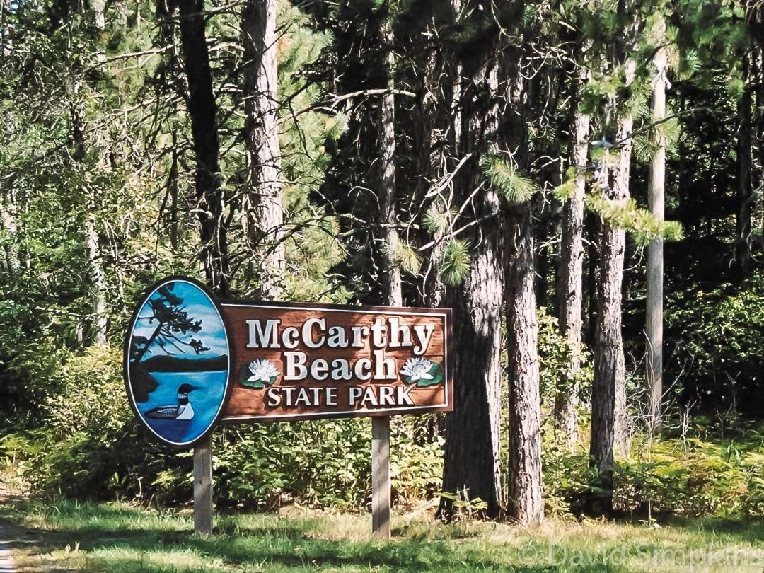 McCarthy Beach State Park is located near Side Lake in Minnesota's St. Louis County