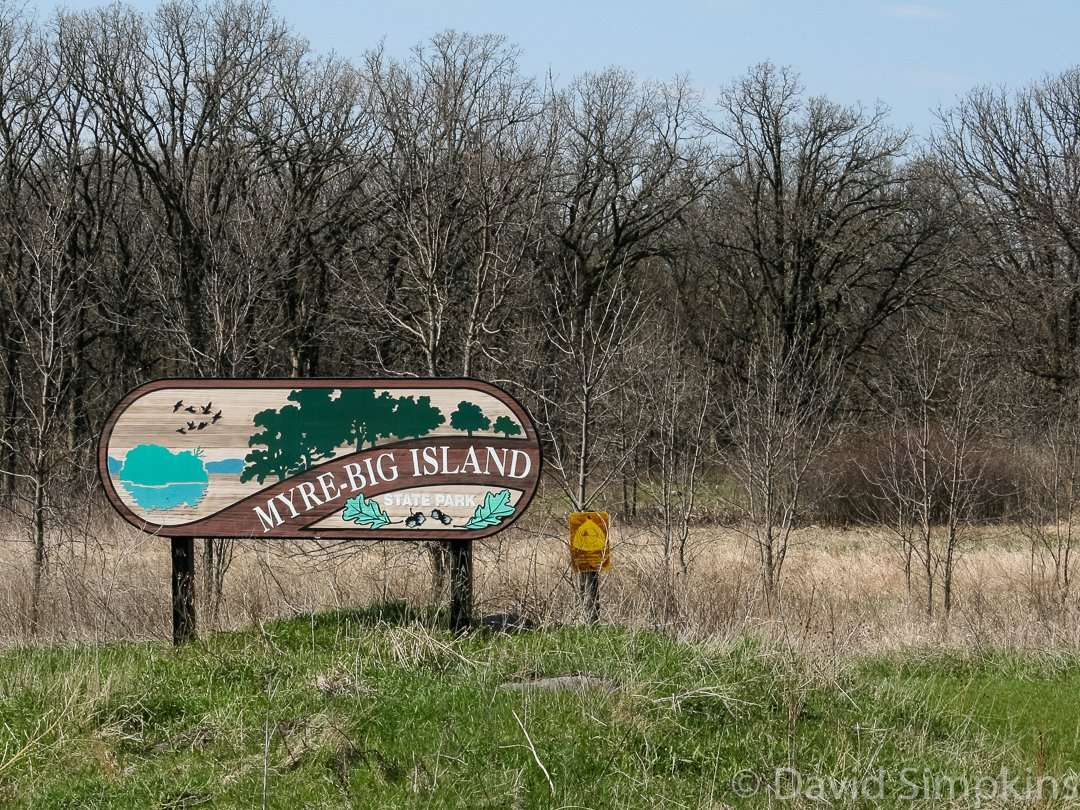 Myre-Big Island State Park is located 3 miles southeast of Albert Lea in Minnesota's Freeborn County