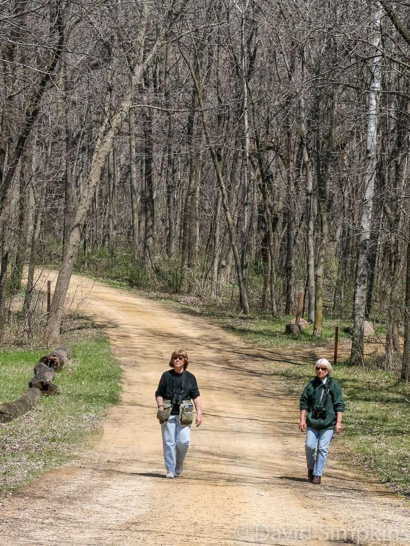 An early-season hike at Sakatah Lake State Park