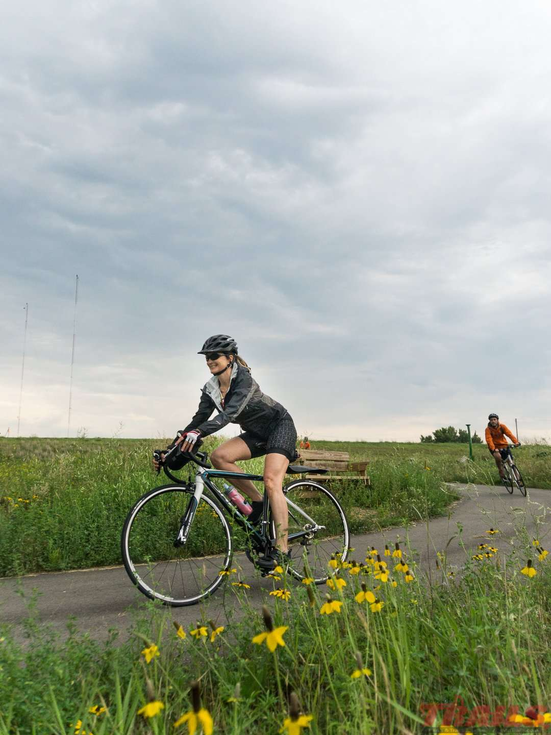 Start your trip from the Fergus Falls trailhead on the Central Lakes State Trail