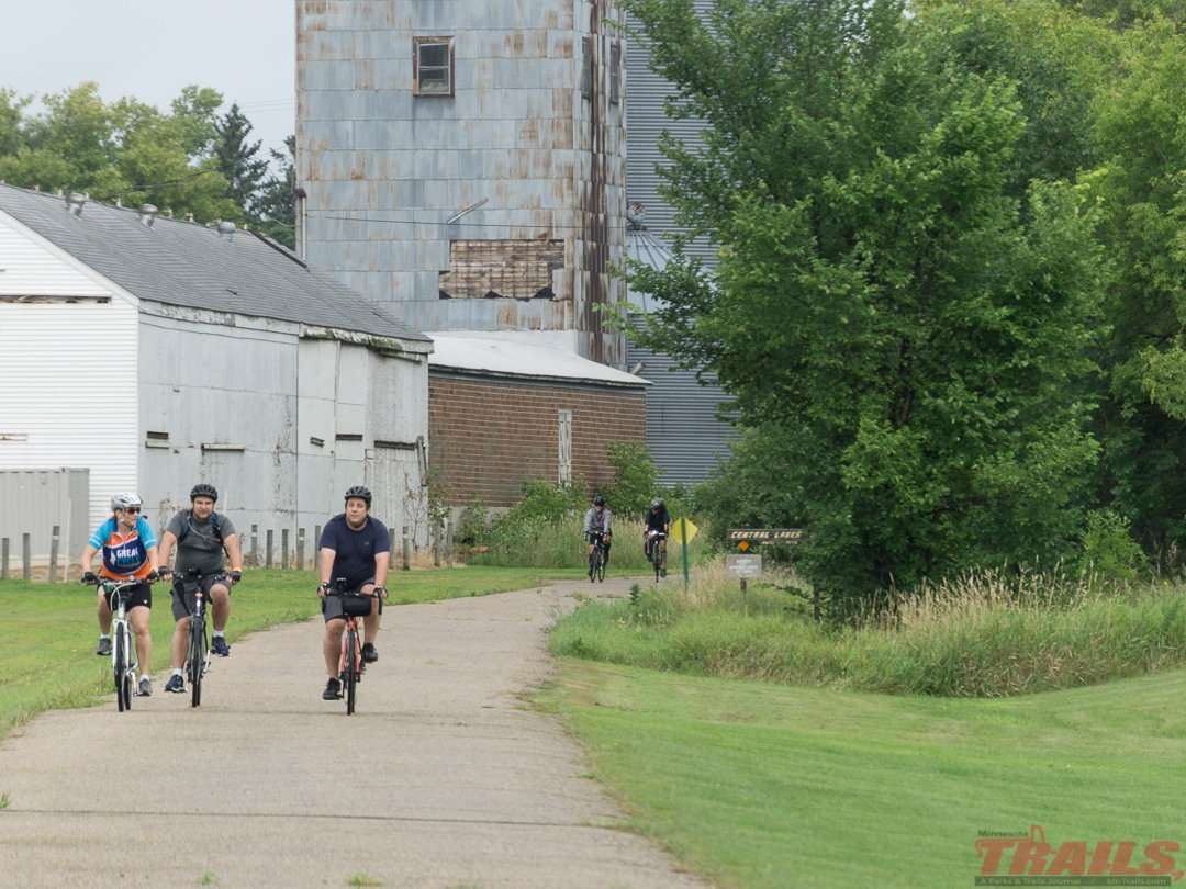 Small town charm in Ashby on the Central Lakes State Trail