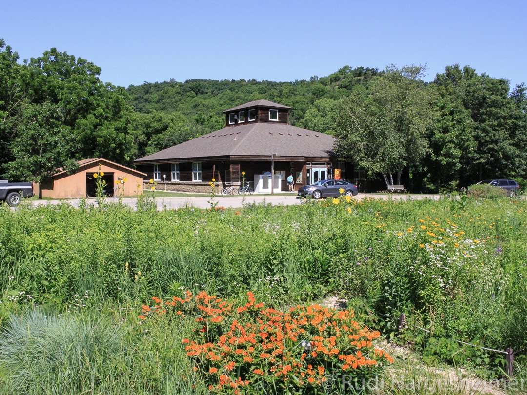 The Visitor Center at Whitewater State Park