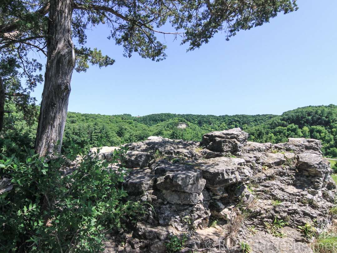 Eagle Point is one of five scenic lookouts at Whitewater State Park