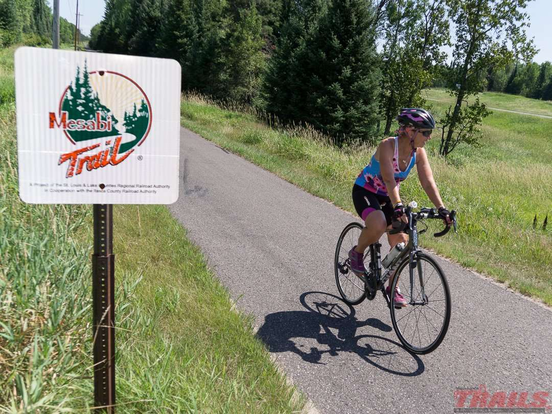 The Mesabi trail is well marked