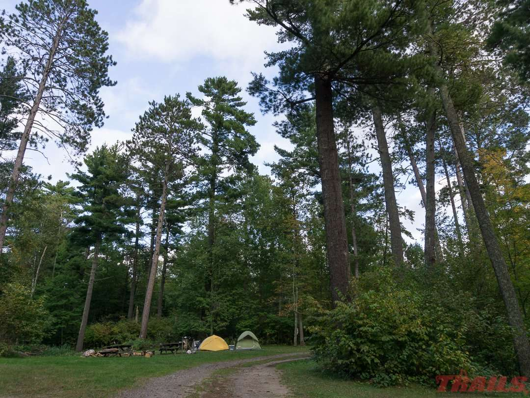 Tent and RV camping is available at the Itasca County fair grounds in Grand Rapids on the Mesabi trail