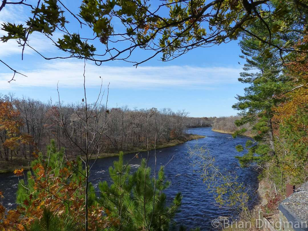 The Kettle River High Banks Overlook at St. Croix State Park