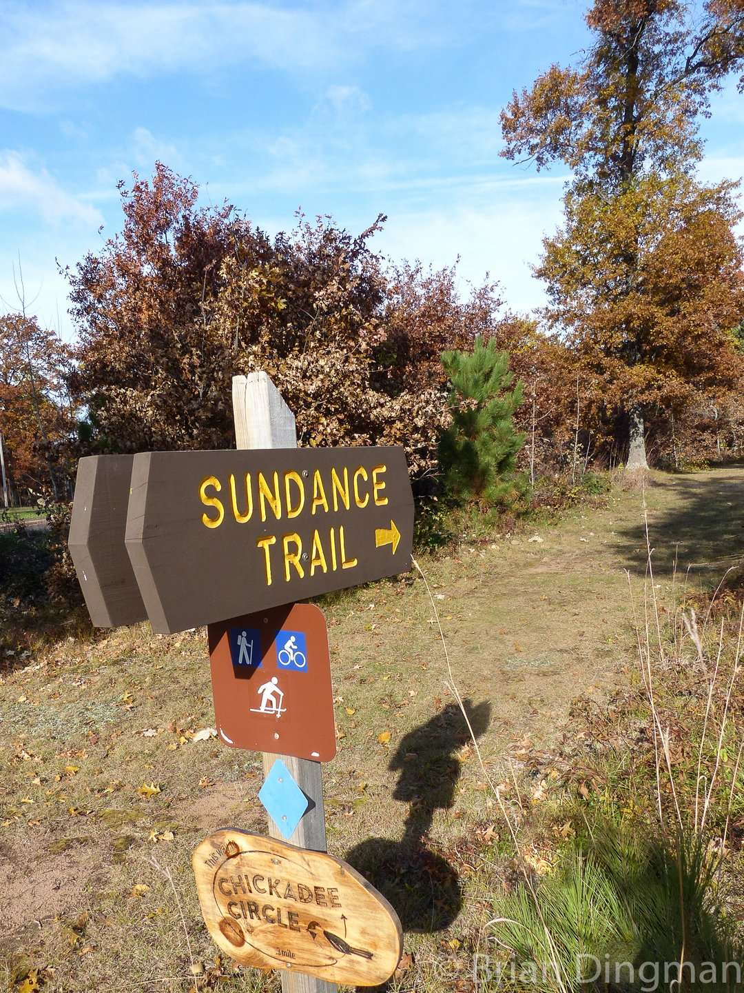 The Sundance Trail is a one-mile self-guided interpretive walk at St. Croix State Park
