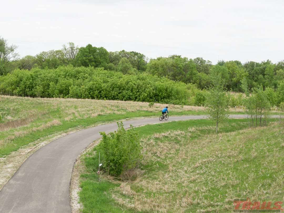 Things are starting to bud on an early season ride on the Glacial Lakes Trail