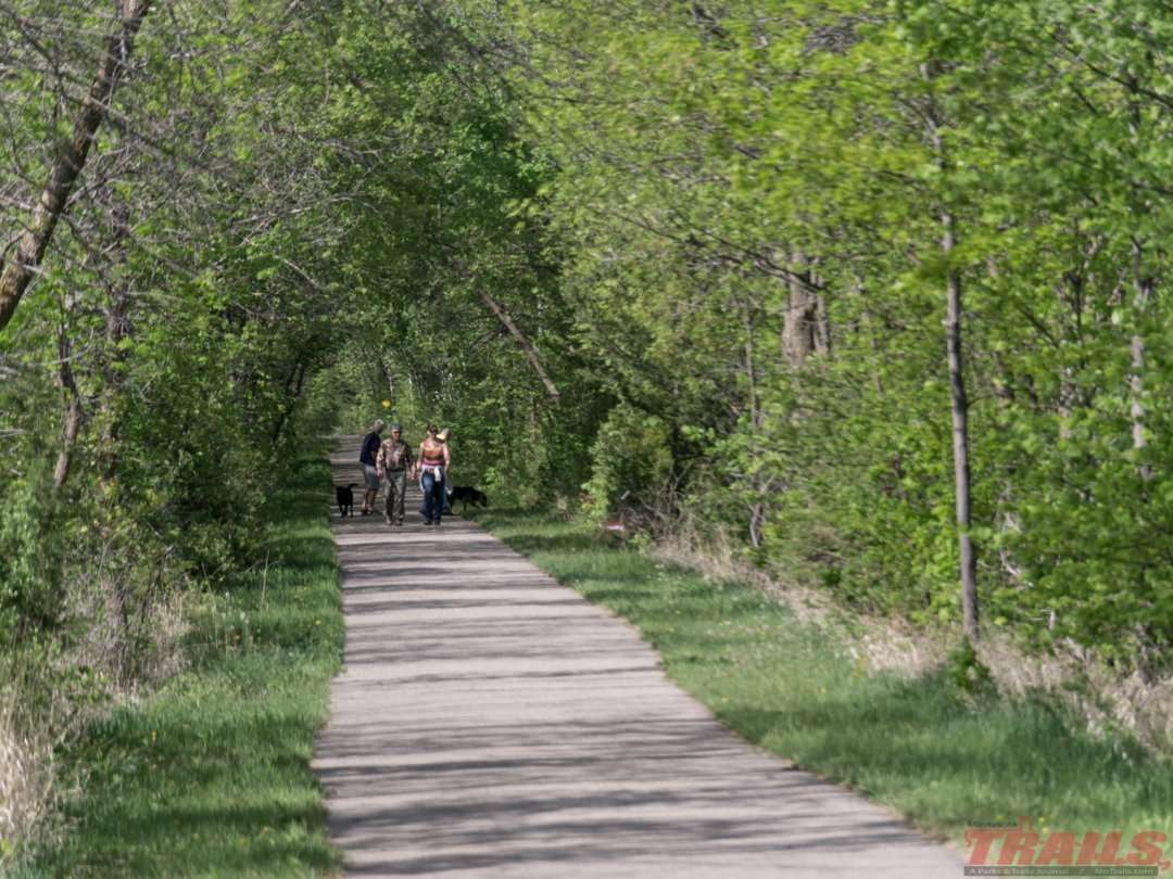 A nature hike is a popular activity on the Glacial Lakes Trail