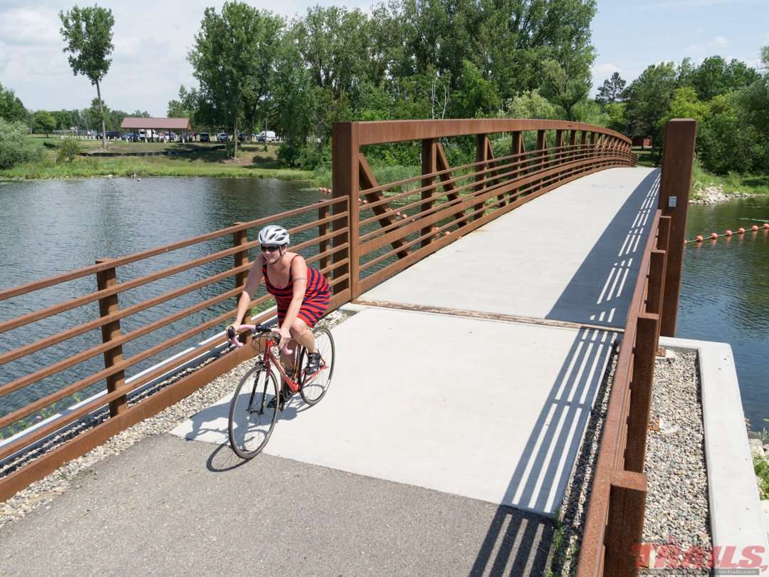 The trail officially starts at Park Rapids' Heartland Park on the Heartland Trail