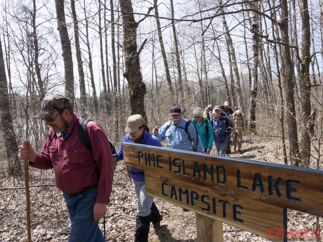 Hiking Itasca State Park's quiet side on the North Country Trail