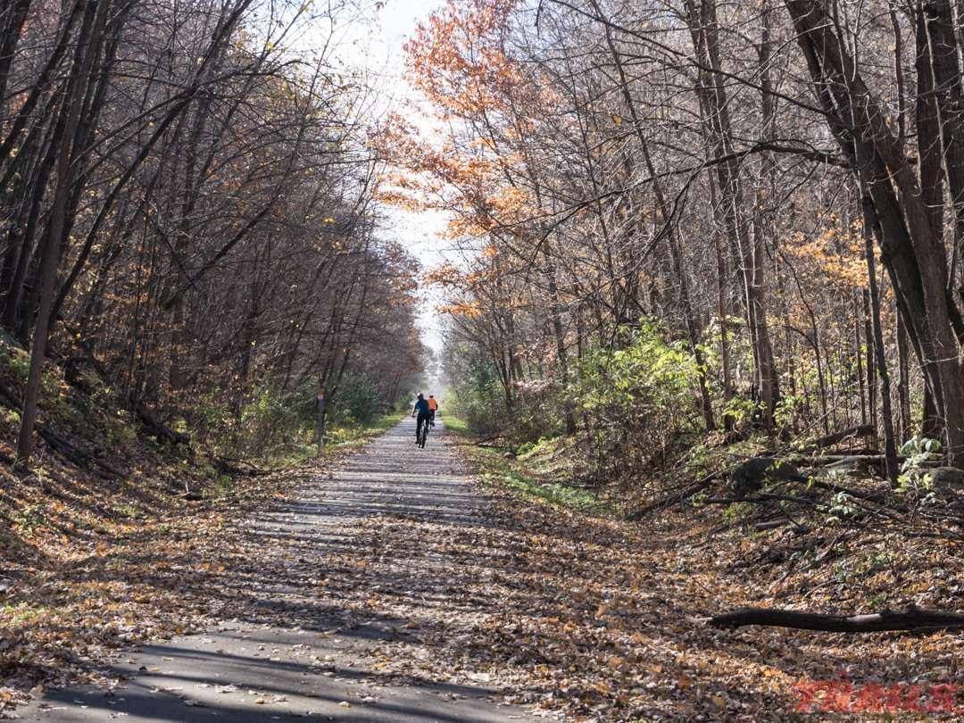 Fall Scene on the Soo Line Trail