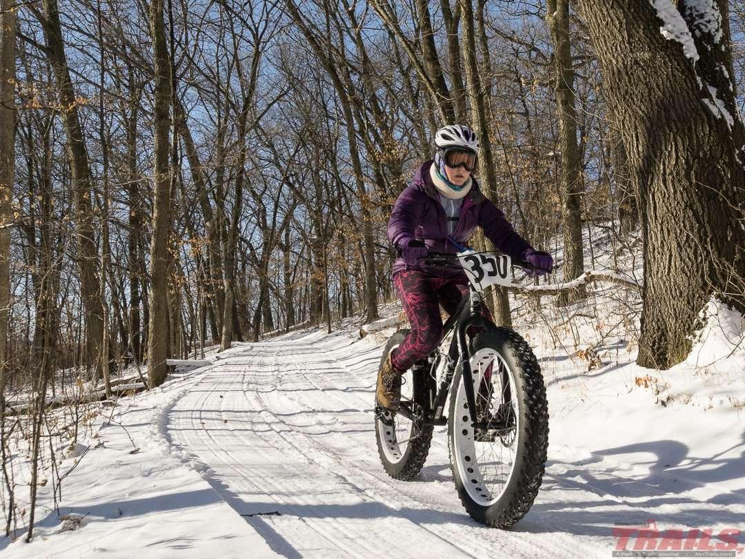 River Bend Nature Center Fat Biking
