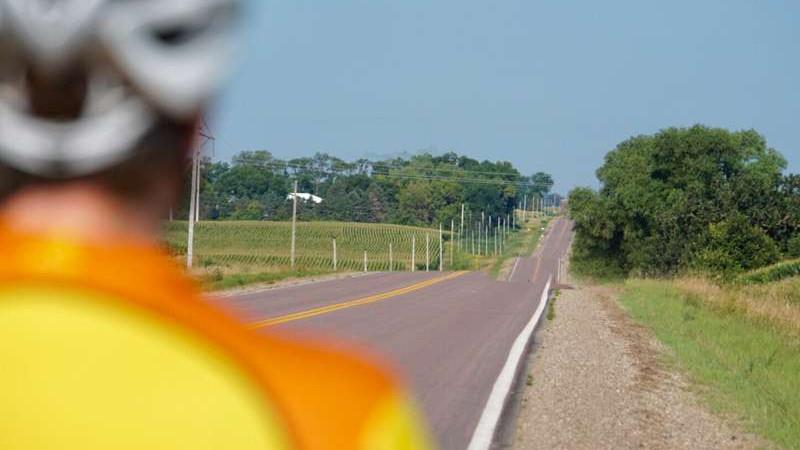 The open road calls on the Tour de Bun in Montgomery, MN