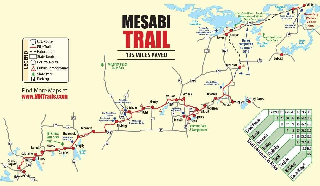 Mesabi Trail Map