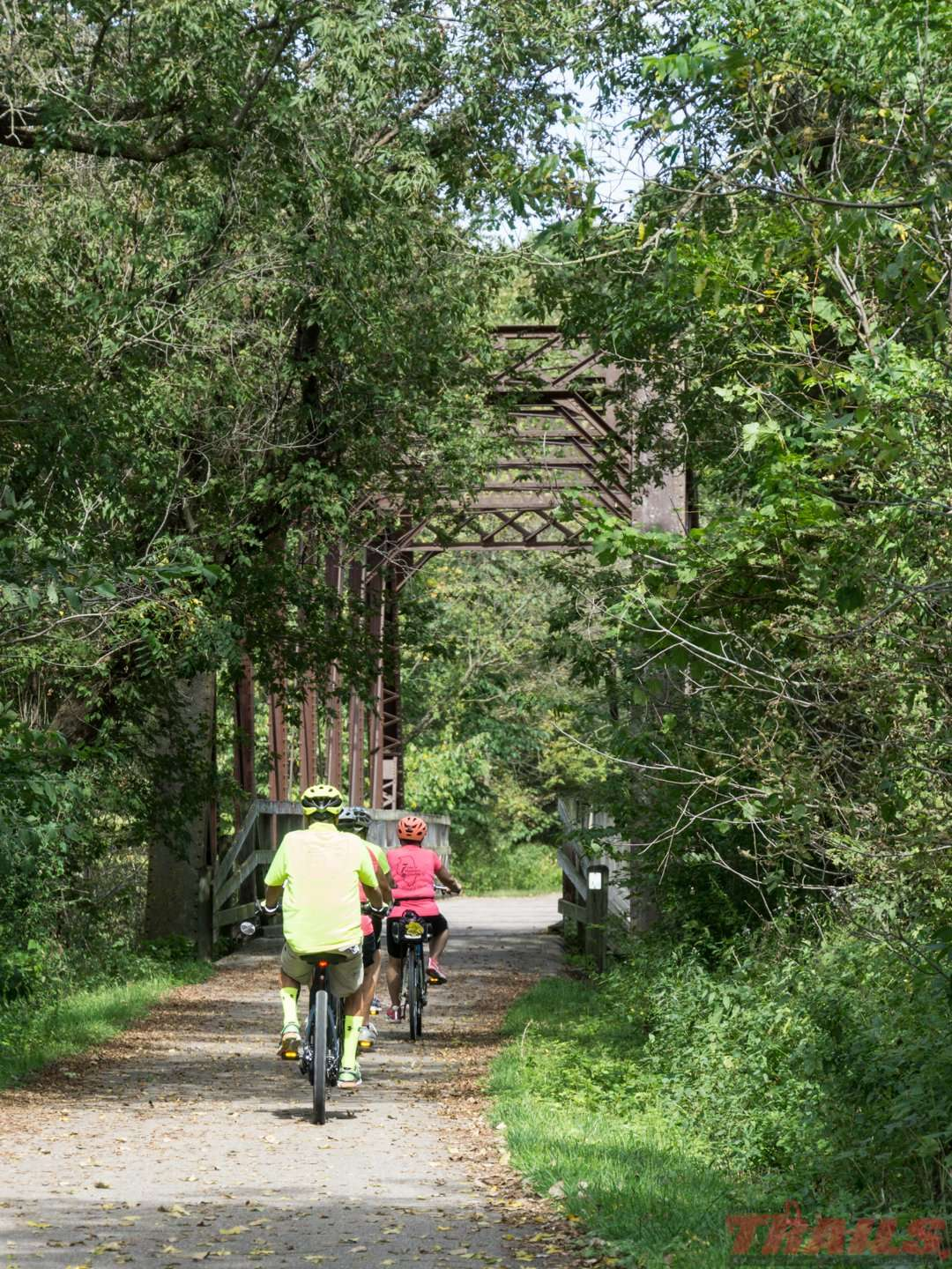 Witness to the trails' past as a railroad coridor. Some of the original bridges remain today on the Root River State Trail