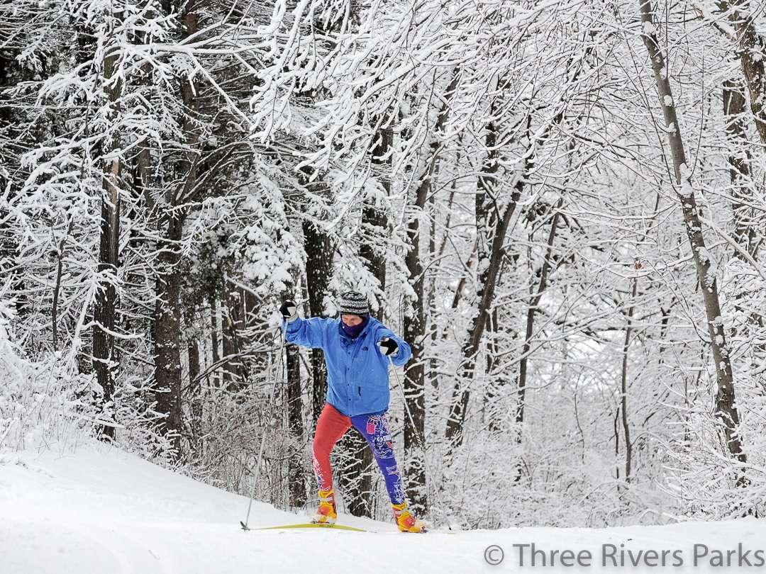 French Regional Park Ski Trails