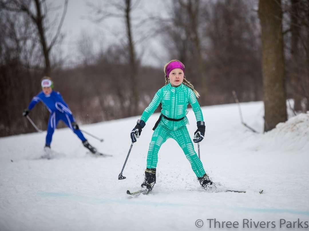 Hyland Lake Park Ski Trails