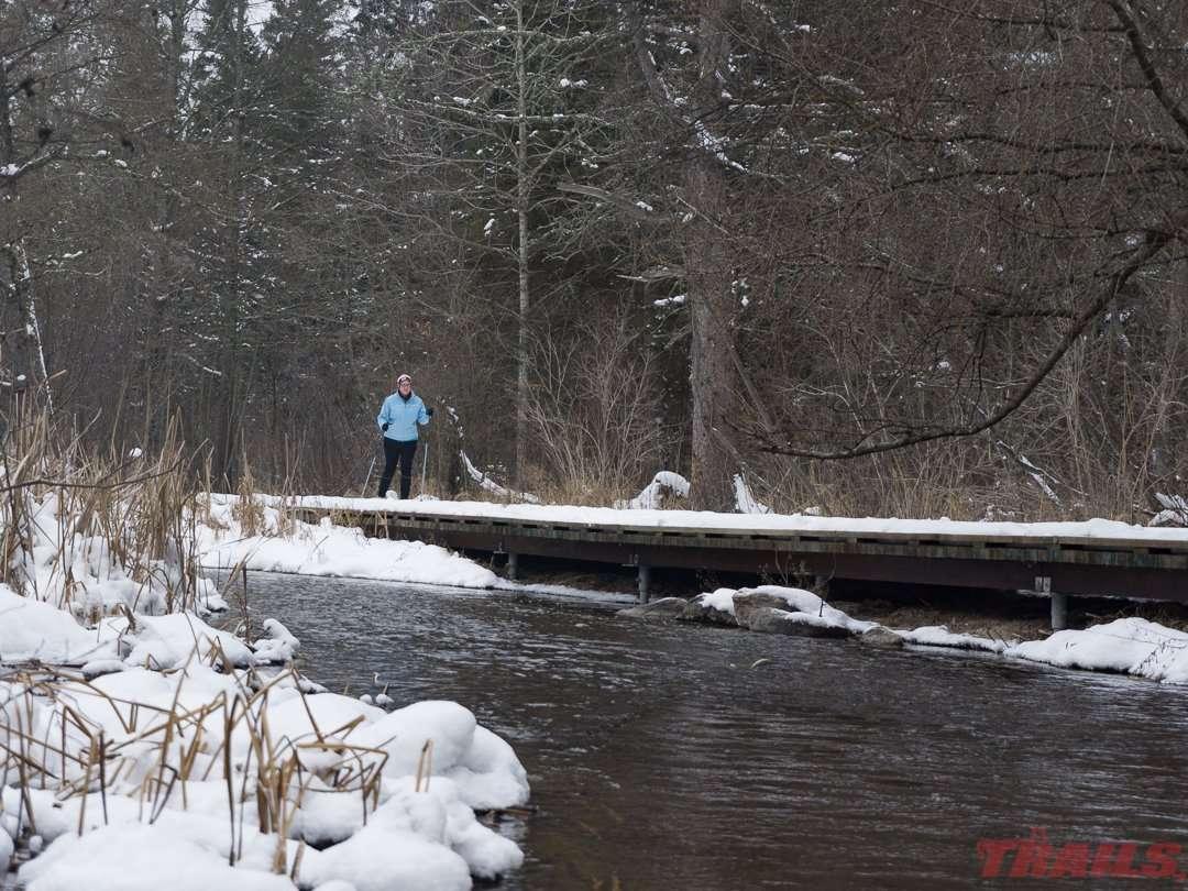 Itasca State Park Ski Trails