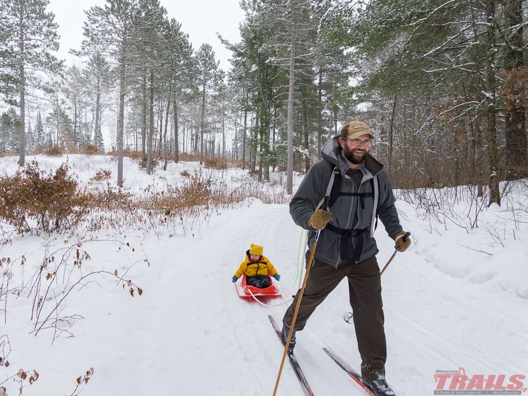 Lake Bemidji State Park Ski Trails