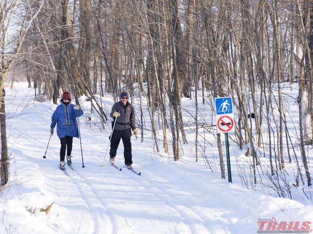 Lake Carlos State Park Skiing