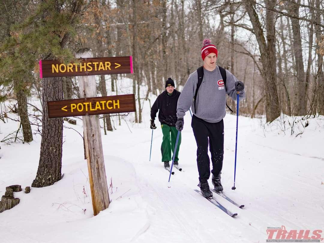 Northland Arboretum Ski Trails