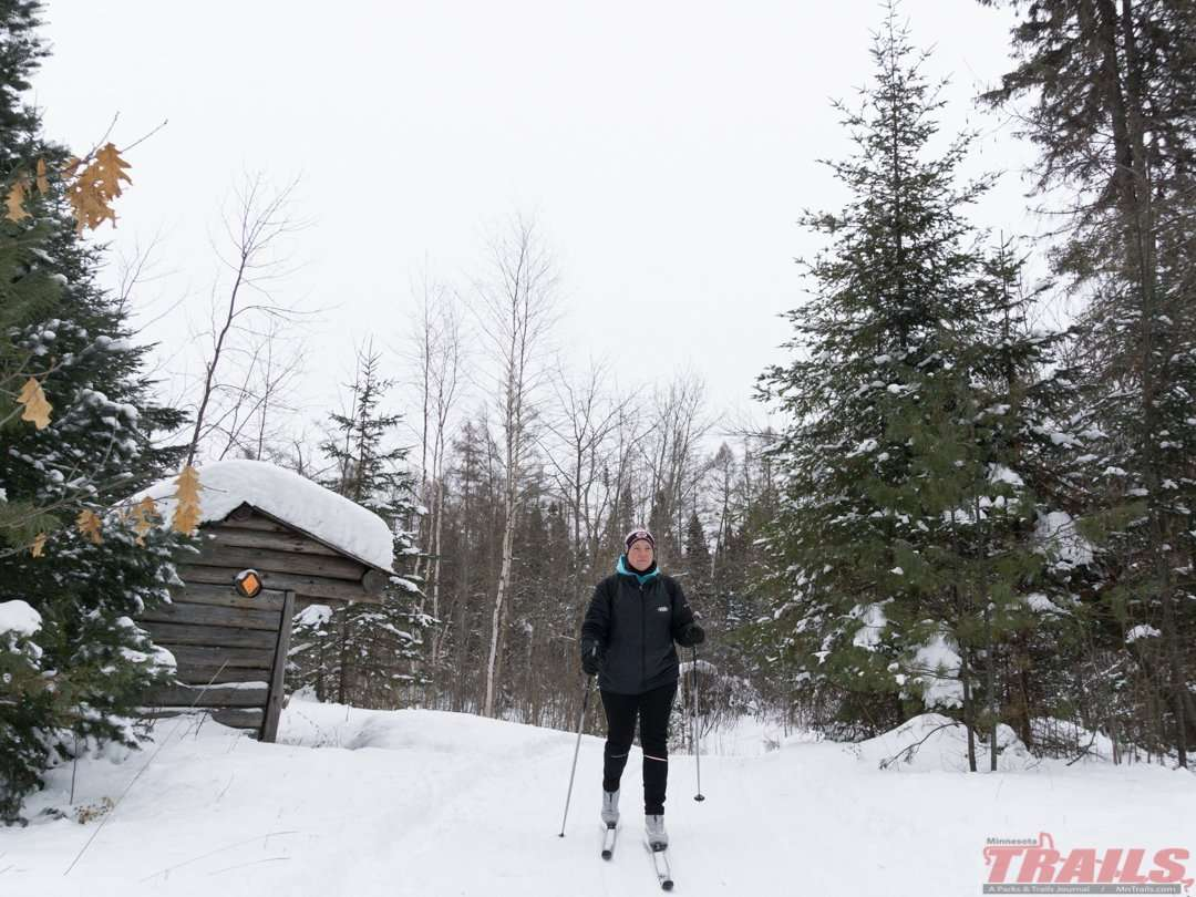 Remote Lake Ski Trail