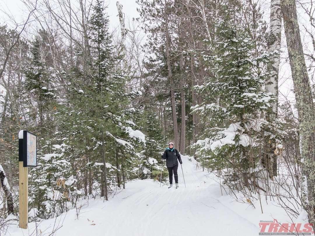 Savanna Portage State Park Skiing