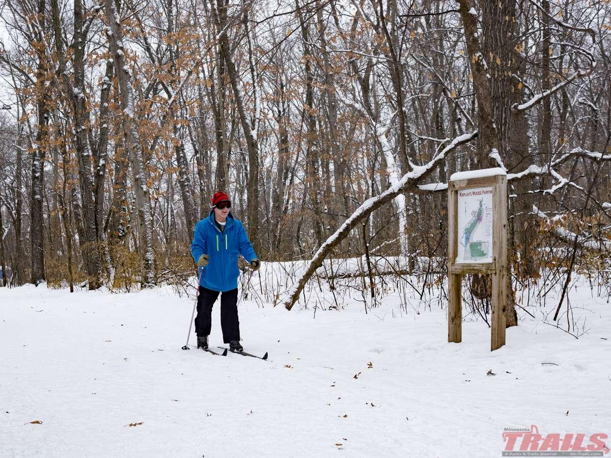 Kaplan's Woods Ski Trail