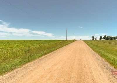 Gravel road in central MN