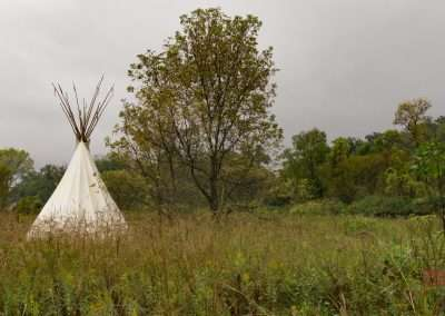 Tipi at Upper Sioux Agency State Park