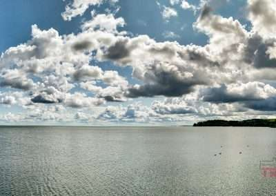 View of Lake Mille Lacs from Garrison